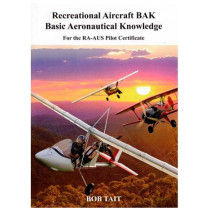 Bob Tait's Special - Bob Tait's Aviation BAK (black and white) with 6 Months online E-Text