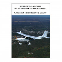 RAAus Cross Country (Book Only) - Bob Tait's Aviation Theory School