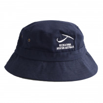 Bucket Hat - Kids Navy  - Front