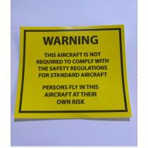 Warning Placards (Free)